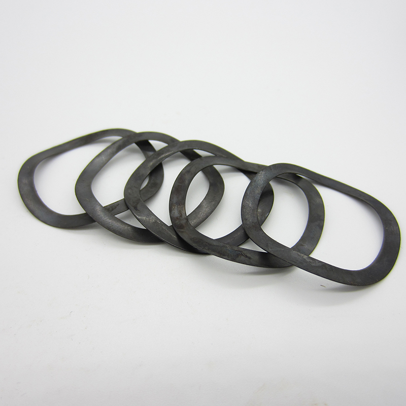 100/50/10/5Pcs M4 M5 M6 <font><b>M8</b></font> M10 M12toM108 Black DIN 137B Wave Spring <font><b>Washers</b></font> JB7590 Wave <font><b>washers</b></font> image