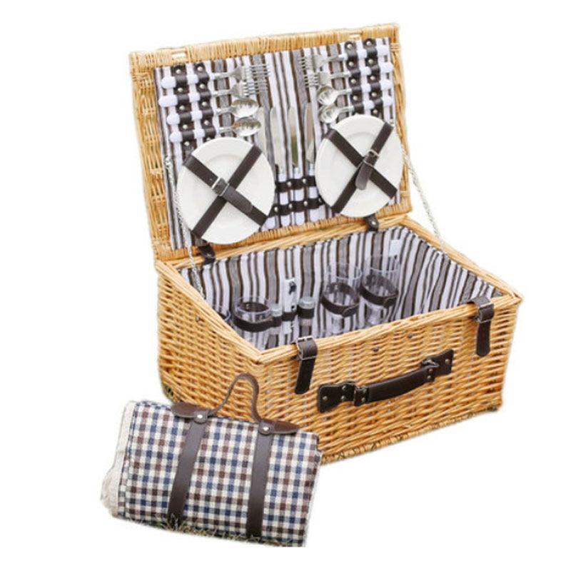 Корзины для пикника на открытом - Организация и хранения в доме - Фотография 6