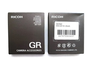 Image 5 - Original Blue Lens Ring ONLY for Ricoh GR3 /GRIII