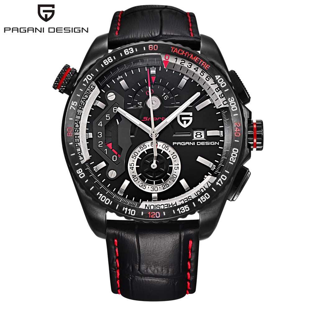 2017 Luxury Brand Men Watches PAGANI DESIGN Quartz Wristwatch Male Chronograph Sports Business Wrist Watch Relogio Masculino new listing pagani men watch luxury brand watches quartz clock fashion leather belts watch cheap sports wristwatch relogio male