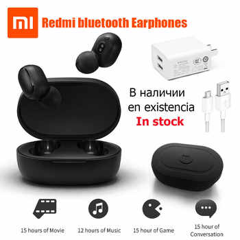 Xiaomi Redmi Airdots True Wireless bluetooth Earphones TWS 5.0 Original xiaomi Air Airdots pro headset DSP With Mic InStock - DISCOUNT ITEM  0% OFF All Category