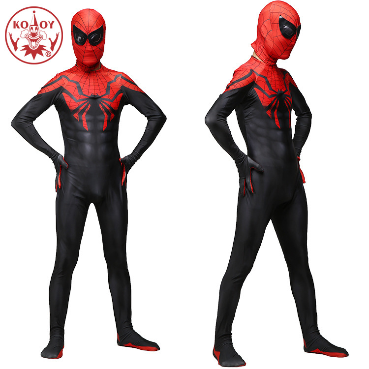 2019 Ultimate Spiderman Costume 3D Spandex Halloween Cosplay  Spider-Men Superhero Fullbody Zentai Suit