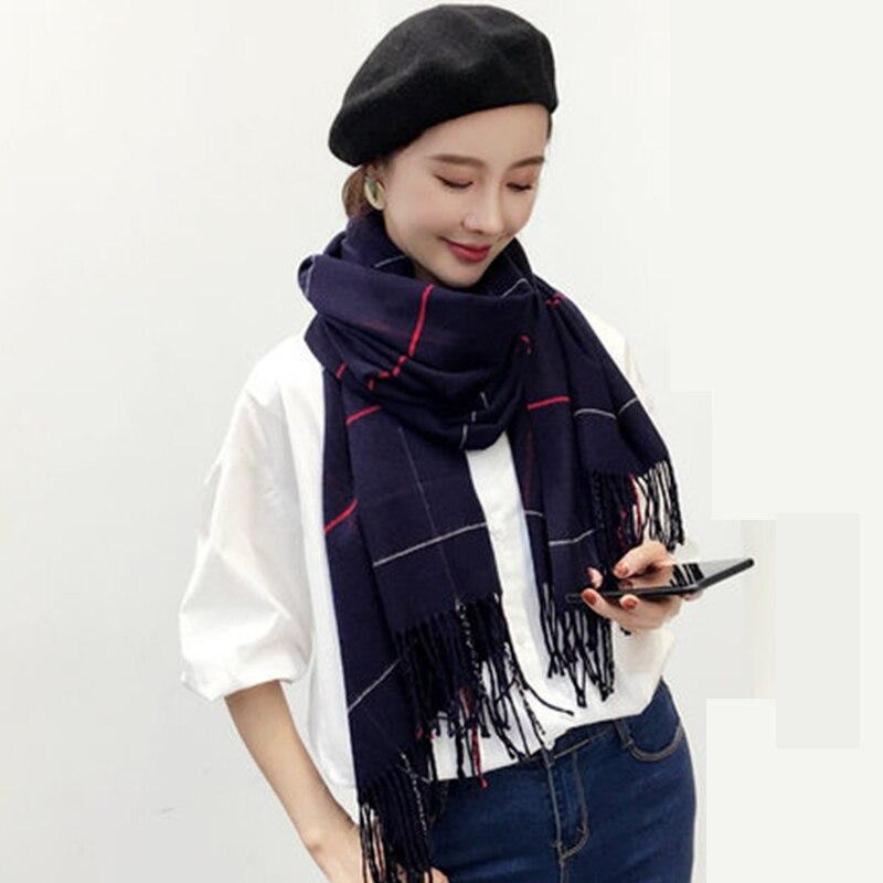 2018 ELEGANT Brand Winter Pashmina For Women Scarf 65cm*180cm Large Luxury Man Scarf Warm Shawls and Scarves