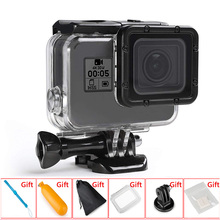 45M/147FT Waterproof Case Underwater Housing Touch screen Protective shell for Gopro Hero 7/6/5 Go Pro Action Camera Accessories