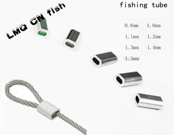 Buy fish crimps aluminum pipe fishing for Fishing line crimps