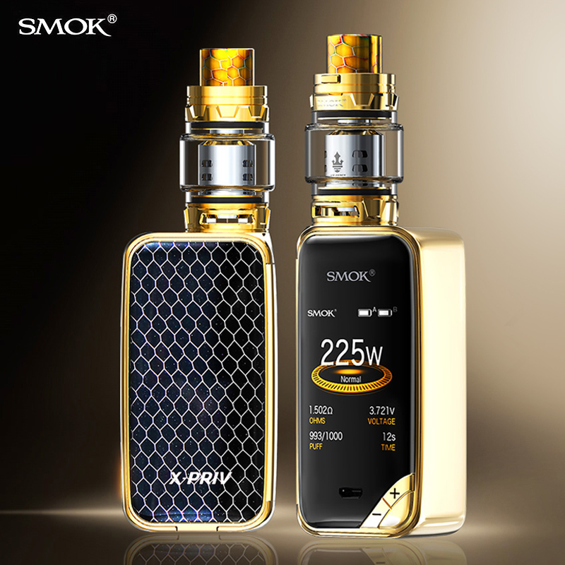 Cigarette électronique smok x-priv Kit Vape MOD Cigarette TFV12 Prince réservoir vaporisateur x boîte priv Original VS MAG KIT S9112