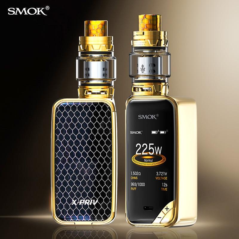 Electronic Cigarette Smok X-priv Kit Vape Box MOD Cigarette TFV12 Prince Tank Coil Vaporizer X PRIV Original VS MAG KIT S9112