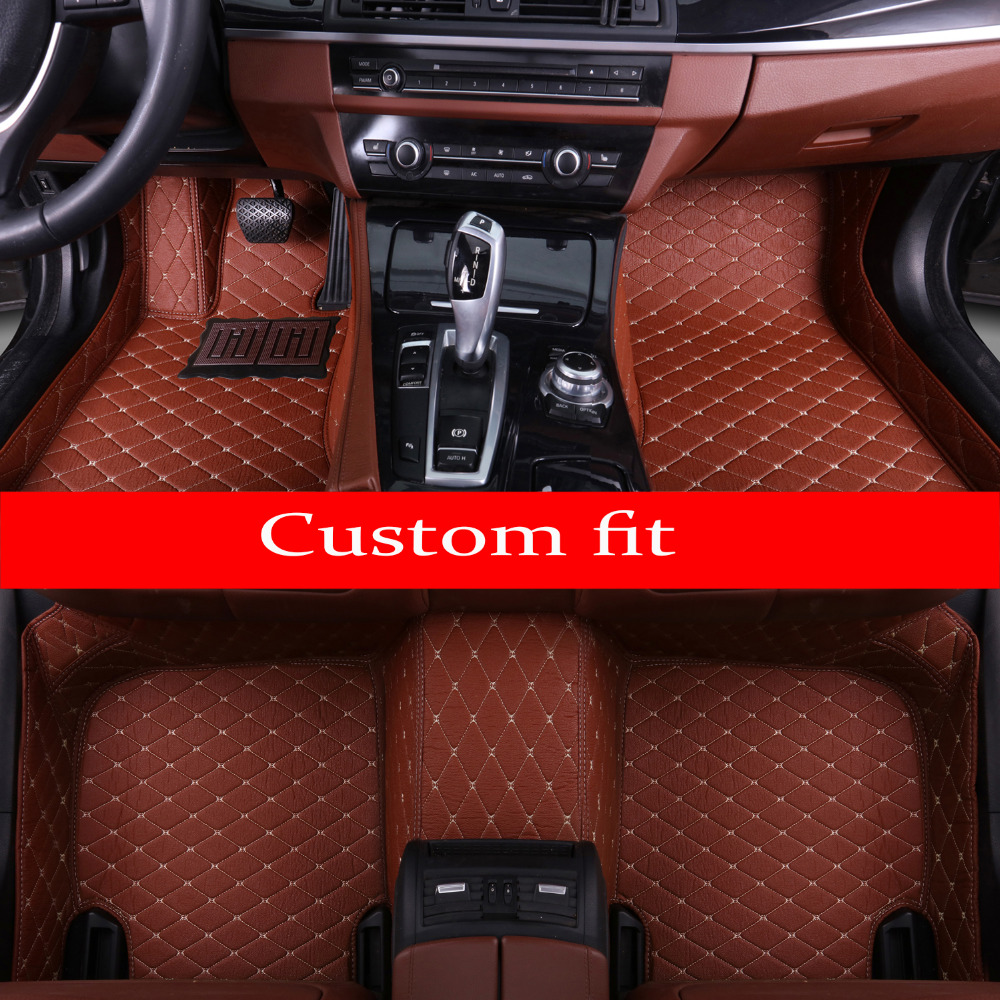 Car floor mats for Nissan patrol Murano Rouge X-trail Altima Qashgai Sentra 5D car styling carpet rugs floor linersCar floor mats for Nissan patrol Murano Rouge X-trail Altima Qashgai Sentra 5D car styling carpet rugs floor liners