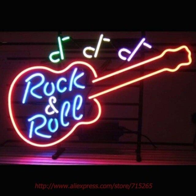 neonlampen rock muziek en roll gitaar neon sign lampen led echte glazen buis lamp handgemaakte kaufen schweiz