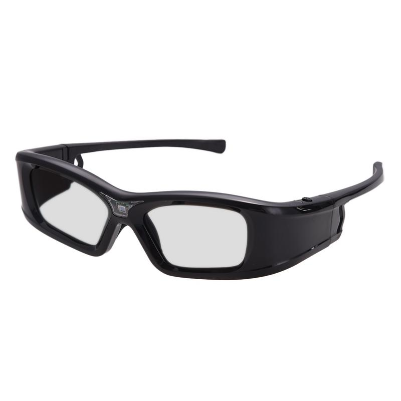 GL410 Shutter 3D Glasses DLP Link Projector 3D Projector Rechargeable 3D Glasses