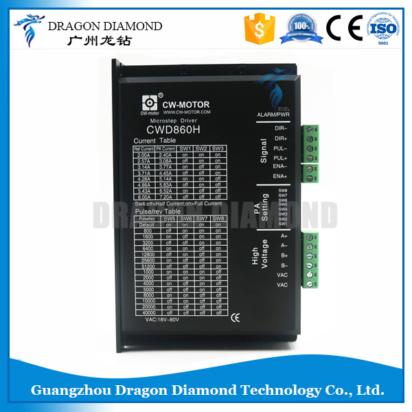 CNC Parts For Machine 2-Phase Micro-step 7.2A Step Motor Driver CWD860H Stepper Motor Driver