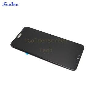 """Image 2 - TFT dla Huawei P20 Pro wyświetlacz lcd ekran dotykowy Digitizer zgromadzenie P20 Pro lcd z ramą 6.1 """"dla Huawei p20 pro ekran wymienić"""
