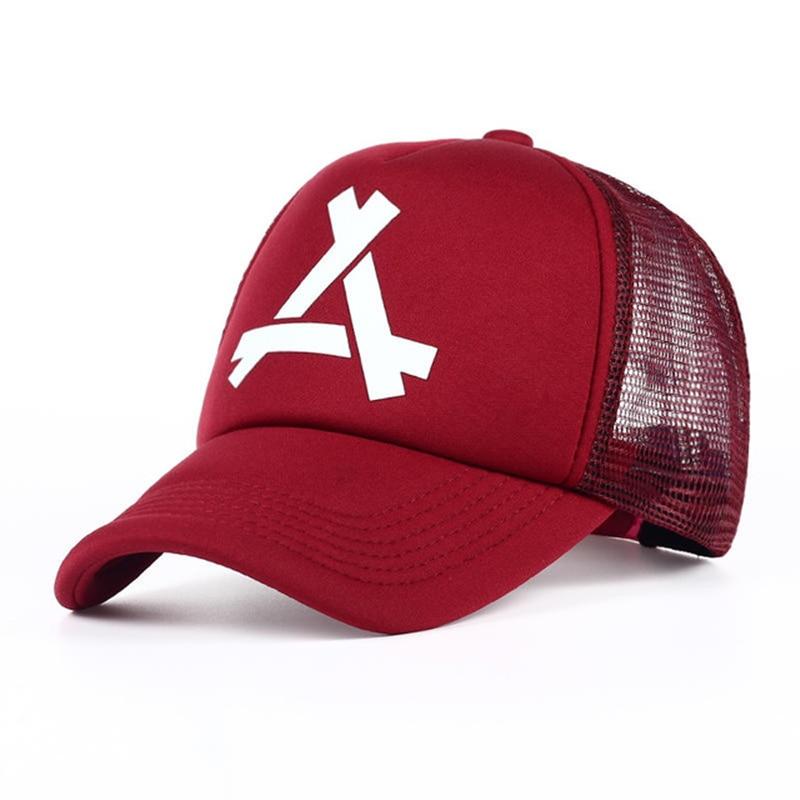 2019New Summer Baseball Mesh Caps Snapback Hat Fashionable Sports Hiphop Trucker Hat God Men Women Cap Hats Garros