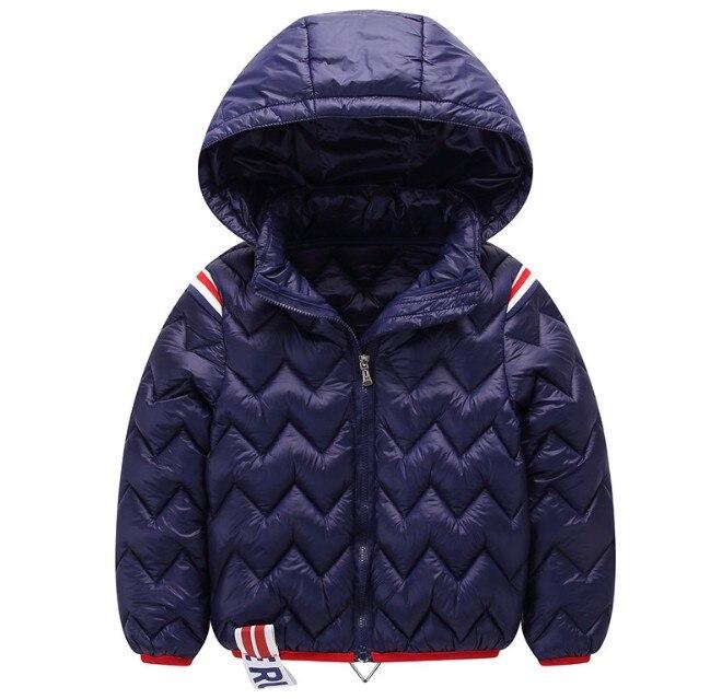 2018 New Children shool boy girl 4 6 8 winter autumn detachable hooded down jacket coat parkas design fashion kids clothes boy