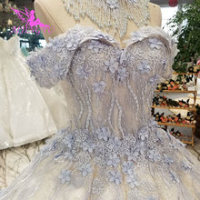 AIJINGYU Wedding Gowns Near Me Two Piece Gown Tulle Couture Women Plus Size Moroccan Winter Dresses Wedding Dress Sparkle
