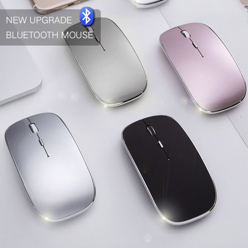 fc1fe0fddef New Silent Bluetooth Mouse for Macbook Mac Hp Asus Acer Lenovo Wireless  Mouse 1600DPI Optical Men Gaming Mouse Rechargeable Mice-in Mice from  Computer ...