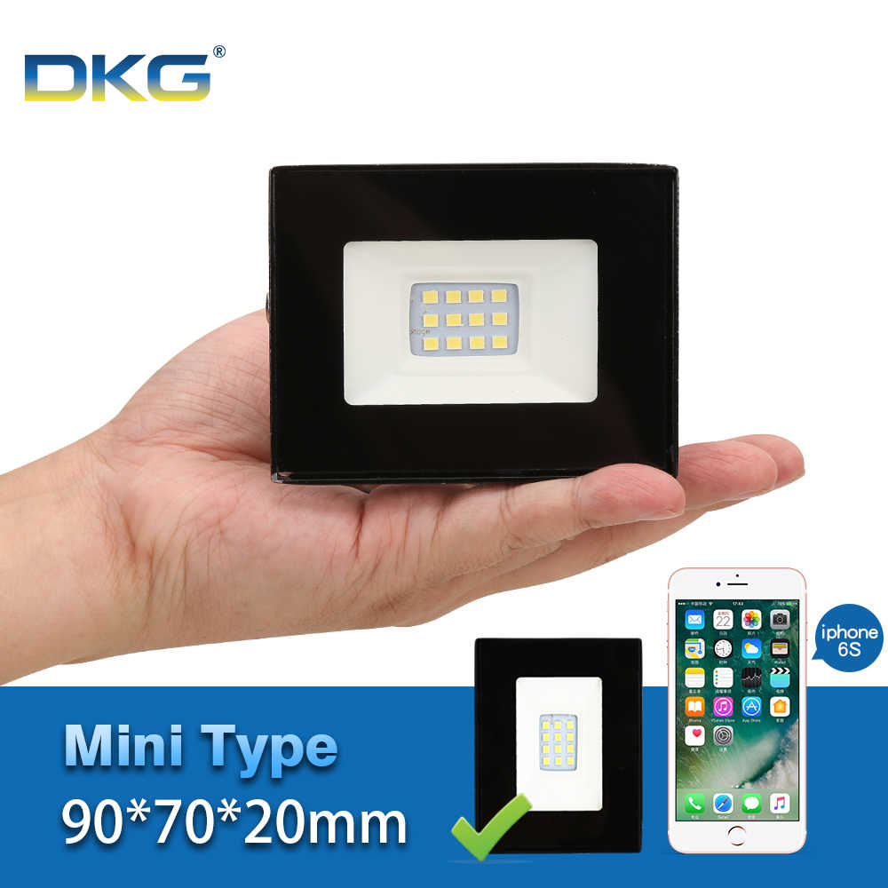 MINI Led Flood Light Outdoor Spotlight Waterproof Ip65 Led Reflector 10W 220V 240V Floodlights Professional Lighting Lamp