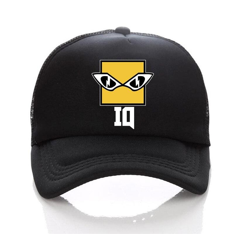 black trucker hat 07
