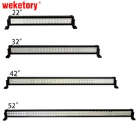 22 Inch 120W LED Light Bar For Work Driving Boat Car Truck 4x4 SUV ATV Off