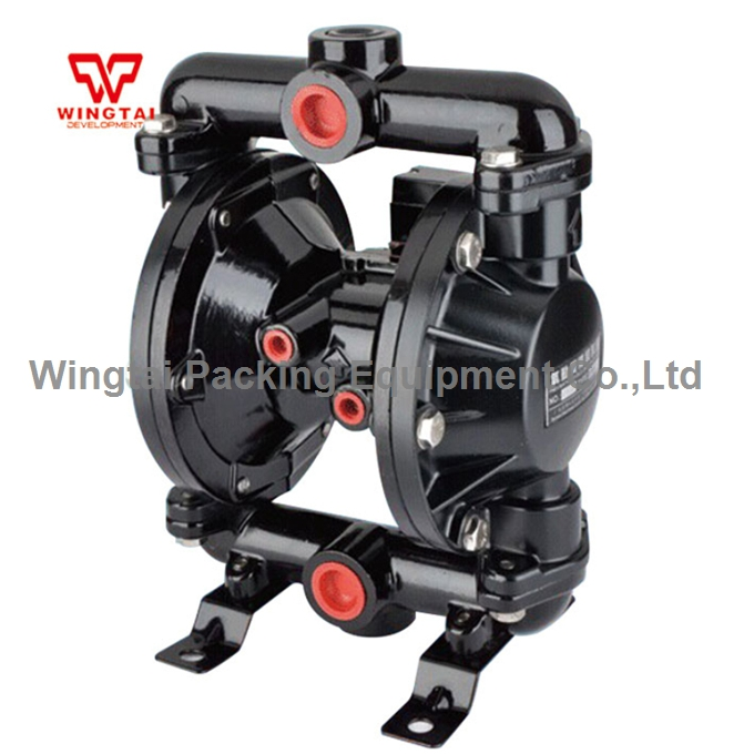 3/4'' Inlet/Outlet Aluminum Alloy Double Pneumatic Diaphragm Oil Pump BML-20 usa aro ingersoll rand 2 inch aluminum alloy pneumatic diaphragm pump 666270 eeb c