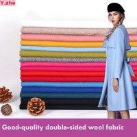 148x100cm Good Quality Wool Fabric Coat Fabric for Sewing Material DIY Fashion Warm Women Coat Dress Wool 17 colours Choosing