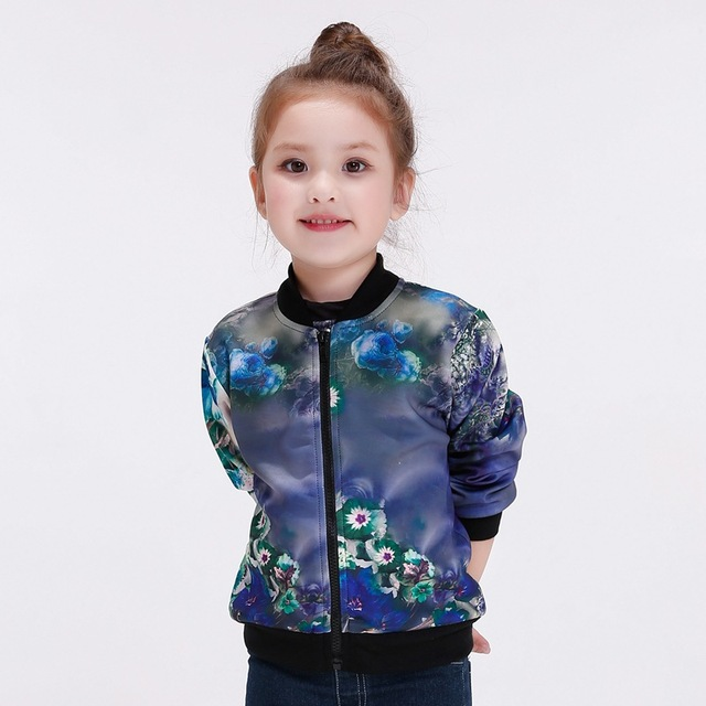 bomber jacket kids Kid Baseball Jacket Baby Girl Trench Coat Girls ...