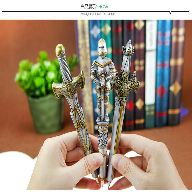 European style cartoon ball point pen custom creative stationery factory direct sales Supplies office For writing pens [factory direct selling] stationery direct liquid type office supplies neutral pen arp50901 length 150mm 12pcs set