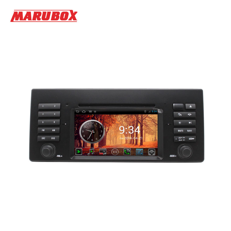 MARUBOX I082, Car DVD Player 1 din android GPS for BMW Serie 5 E39(1995-2003)/7 Series E38 (1995-2001)/X5 E53 (1999-2006) цена
