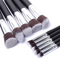 ELERA 10pcs Full Set Women Makeup Brush Kit Superior Professional Soft Cosmetic Brushes Multifunction Toiletry Kit for Women
