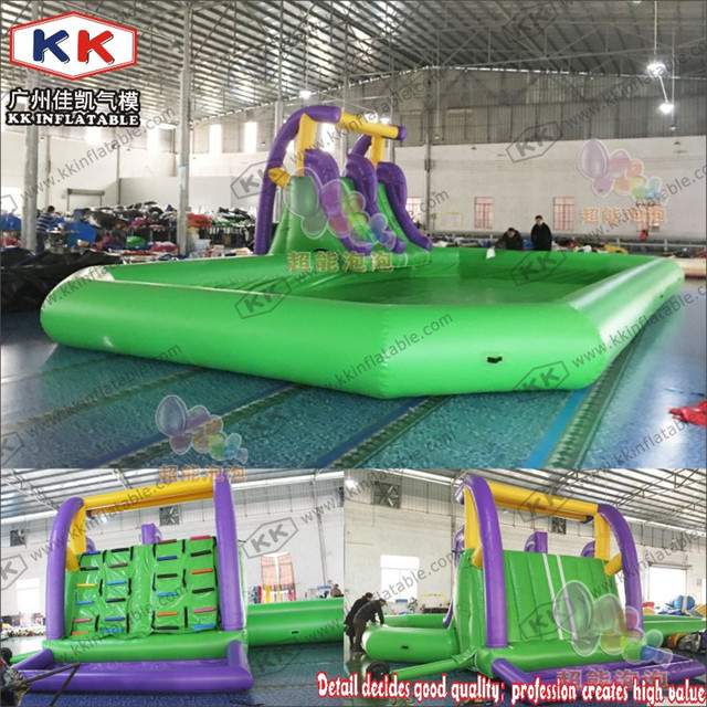 Inflatable pool sports game, Large adult outdoor family ultralarge thickening circle