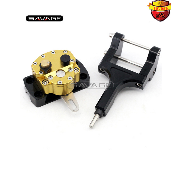 For HONDA MSX125 MSX 125 GROM/MONKEY 2013 2014 2015 Motorcycle Accessories Steering Damper Stabilizer with Mounting Bracket Kit for ktm 200 duke 2013 2014 390 duke 2014 2015 2016 motorcycle accessories steering damper stabilizer with mounting bracket kit