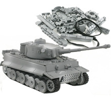 4D Model Building Kits Military Model Assembly Tiger Tank Panzerkampfwagen VI Educational Toys Collection High-density Material cheap ODILO Plastic Vehicle 1 72 6 years old Unisex none