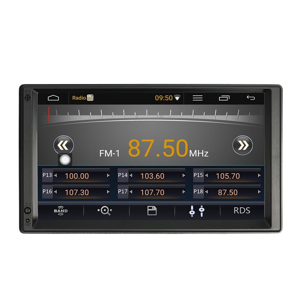 Car Radio Player with GPS Navigation