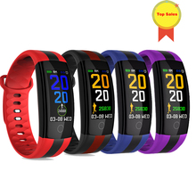 Newest Smart Bracelet Watch Fitness Tracker Blood Pressure Heart Rate Monitor usb charge Smartwatch Waterproof sport Band
