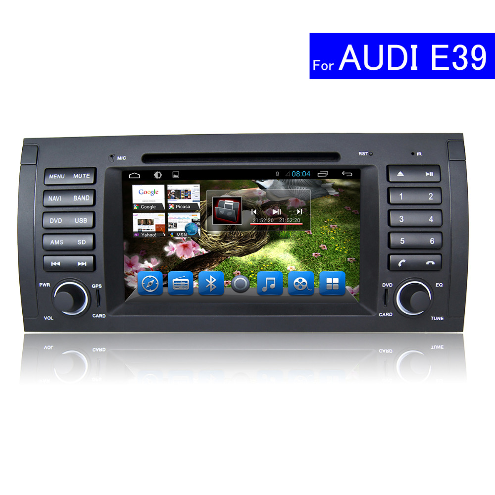 Aliexpress com buy 1024 600 1 din car radio gps navigation for bmw e39 android tv bluetooth wifi car stereo usb sd mp3 touch screen car dvd player from