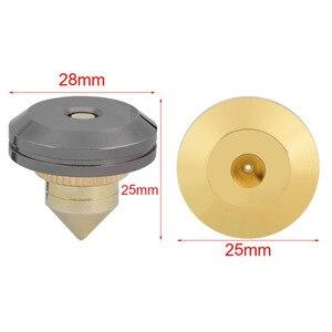 Image 5 - 4 pièces/ensemble haut parleur Isolation pointes pied pied HiFi haut parleur ampli CD cône socle coussinets 28x25mm