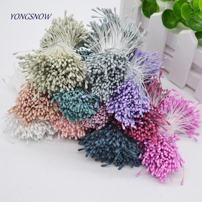 4mm Double Heads Foam Balls Artificial Flower Stamen Card Craft Cake Decoration