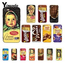 Yinuoda alenka bar wonka chocolate Custom Photo Soft Phone Case for