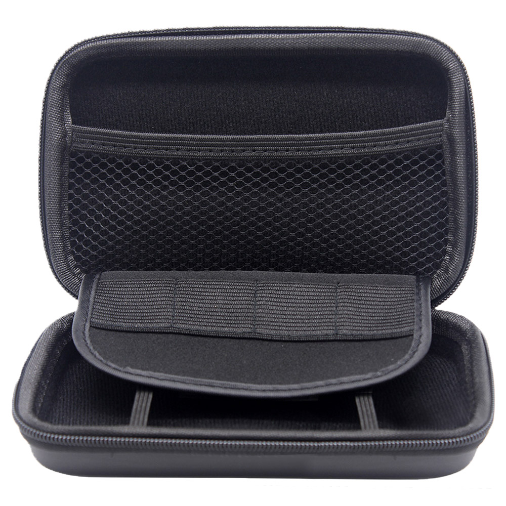 Portable Storage Bag Shock-proof Carrying Case Hard Shell for Nintendo NEW 3DS NDSI DSL Game Console and other Accessory Black