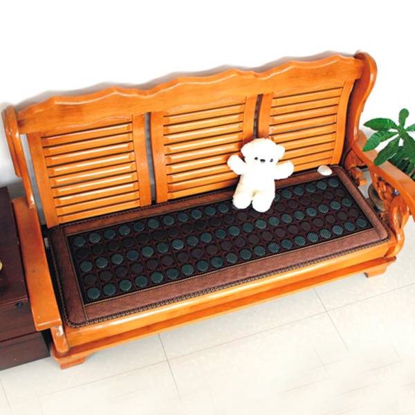 2016 Hot Heating Jade Cushion Mattress Natural Tourmaline Mat Physical Therapy Mat Korea Heated Mattress 50X150CM Free Shipping best selling korea natural jade heated cushion tourmaline health care germanium electric heating cushion physical therapy mat