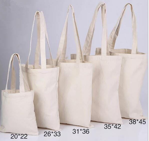 Us 290 0 200pcs Size 20cm 22cm Canvas Cotton Tote Bag Customized Logo Fashion Women Eco For Company Advertising University Activity In Ping