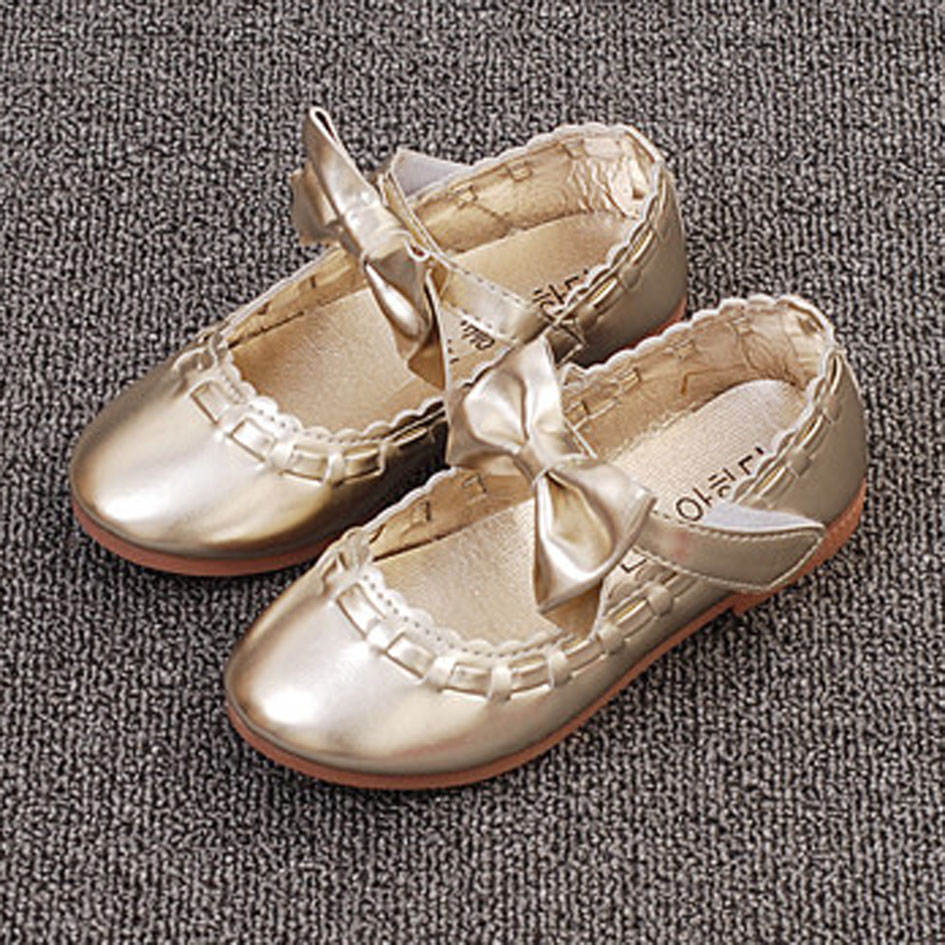 Kitiin Butterfly know Children s Ballerinas Toddlers Girls Autumn Ballet  Shoes 2017 Princess Flats Baby Girl Shoes With Bow-in Leather Shoes from  Mother ... 8a2856f63382