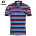 Brand Classic Men Polo Shirt Striped Slim Short Sleeve Cotton Clothing Casual  Mens Polo Shirts Summer Plus Size M-XXL