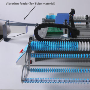 Image 5 - 2019 جديد النسخة CHMT48VB SMT ماكينة استبدال المكونات باستخدام تقنية التركيب السطحي مع قضيب مربع + وحدة تغذية هزازة ، دفعة إنتاج ، Charmhigh
