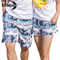 KISSyuer 2 Pieces Couple set Couple Ladies' beach shorts swimwear woman Couples women men Board shorts KBS1215