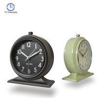 New Continental Retro Alarm Clock Vintage Mute bedside clock Luminous Simplicity Nostalgic Fashion Bedroom Clock