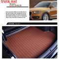 free shipping Custom fit car trunk mat for Chery QQ3 QQ6 A1 A3  A5 Tiggo Tiggos ....  leather 3D car styling carpet cargo liner