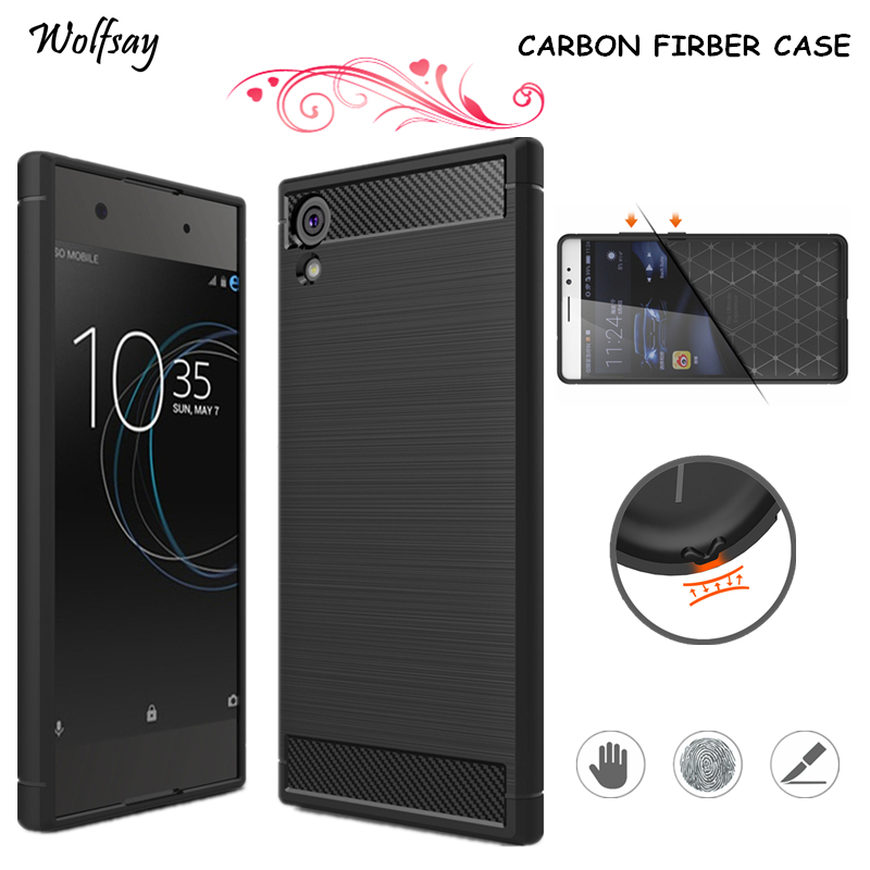 Wolfsay For Cover Sony Xperia XA1 Ultra Case Armor Luxury Silicon Case For Sony Xperia XA1 Ultra Case For Xperia XA1 Ultra G3226