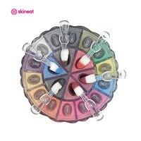 Skineat 20 Colors Professional Eye Shadow Makeup Long Lasting Easy To Wear Cosmetic Pallete Multifunction Eyeshadow