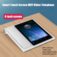 Bluetooth Andrews Smart Network Video Fixed Telephone With Call ID SMS WIFI Address Book For Home Office Bussiness Smart Phones